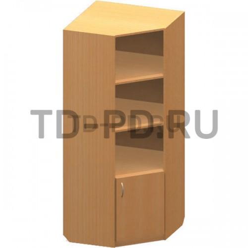 Шкаф угловой низ закрыт