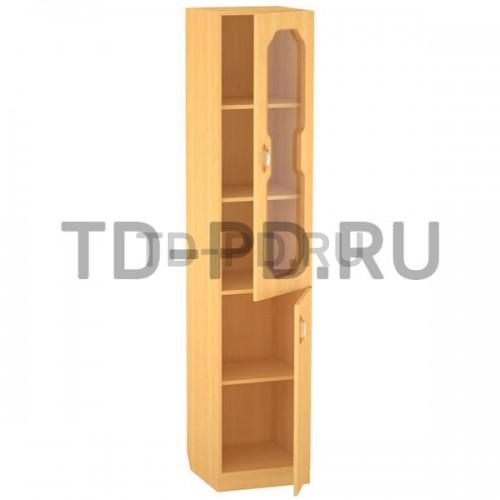 Шкаф 1-ств. со стеклом