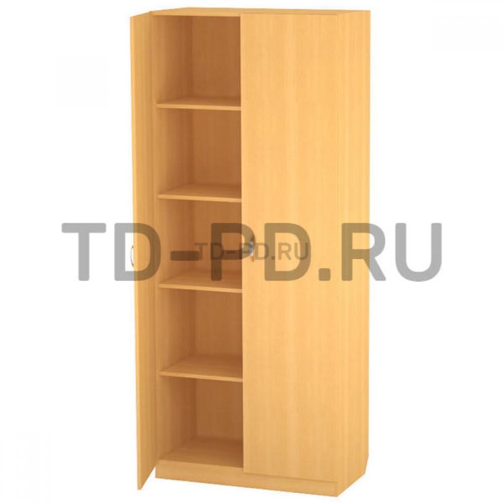 Шкаф 2-х ств. с полками